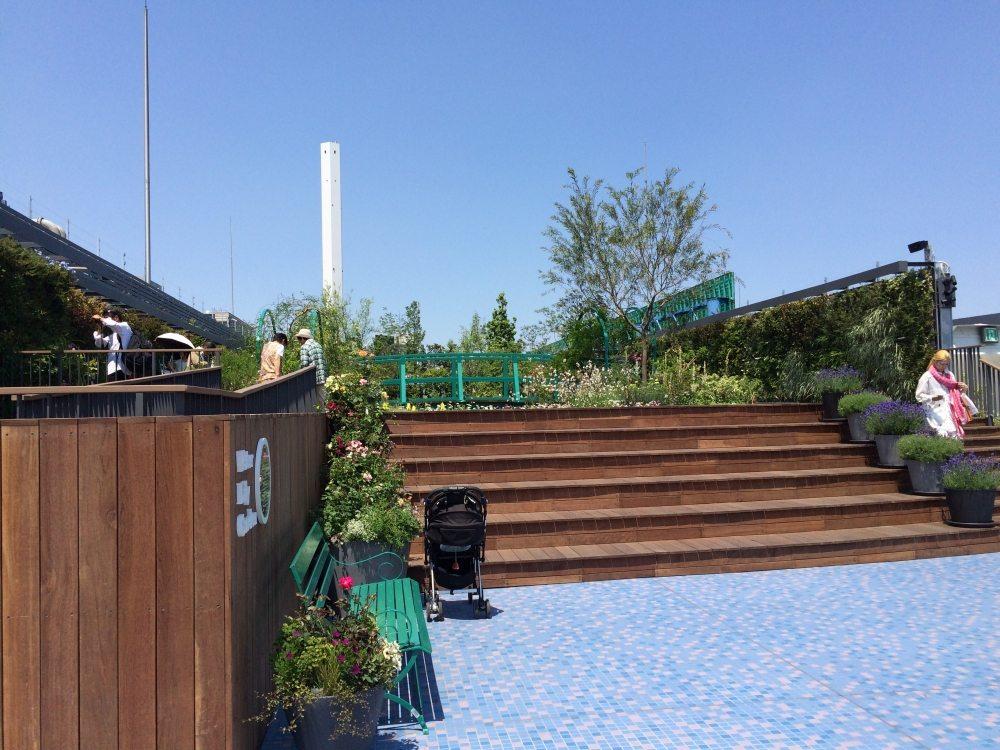 池袋西武本店屋上食と緑の空中庭園
