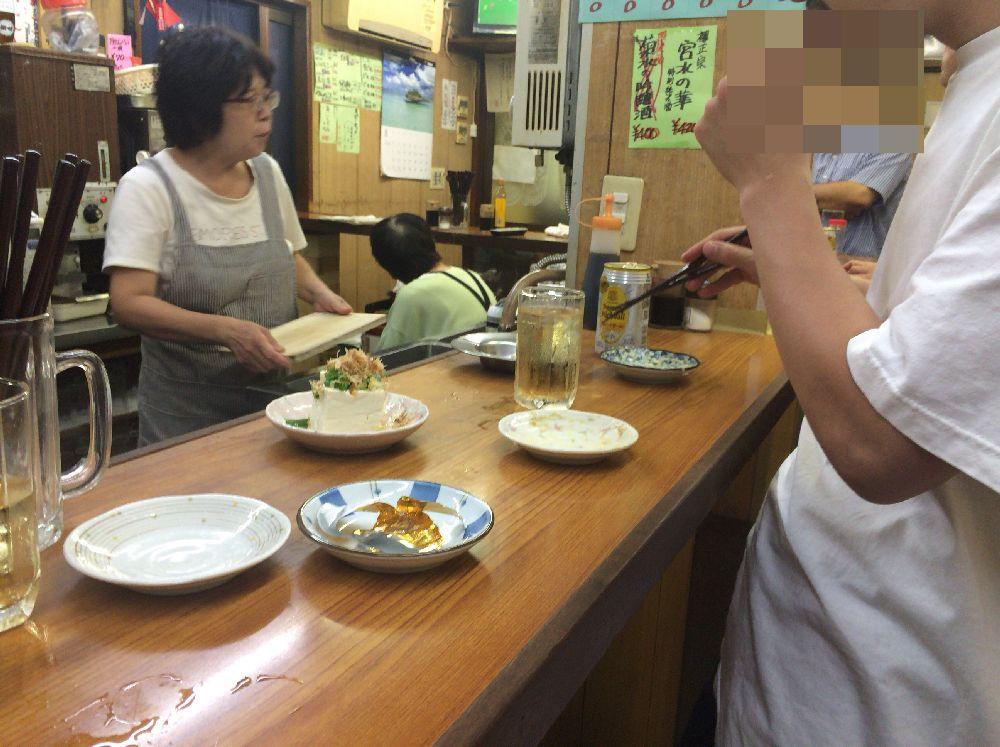 丸木屋商店テーブル2