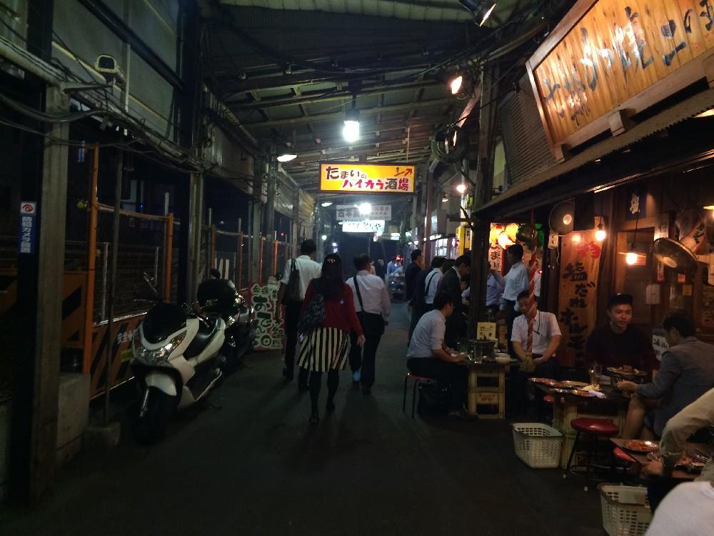 西口商店街