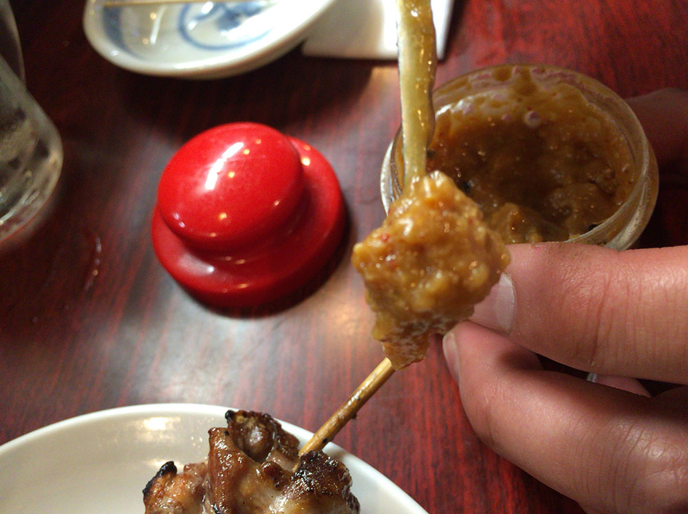 生姜香がする味噌
