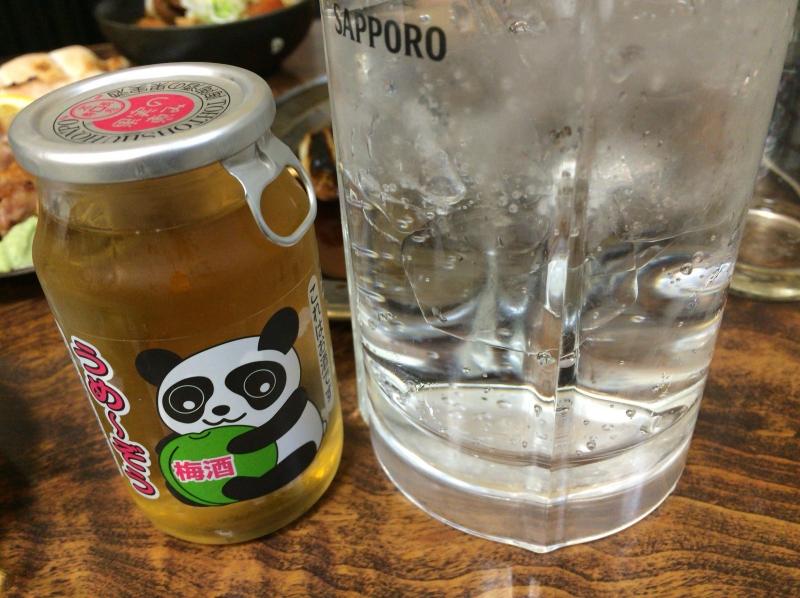 梅酒炭酸割り480円