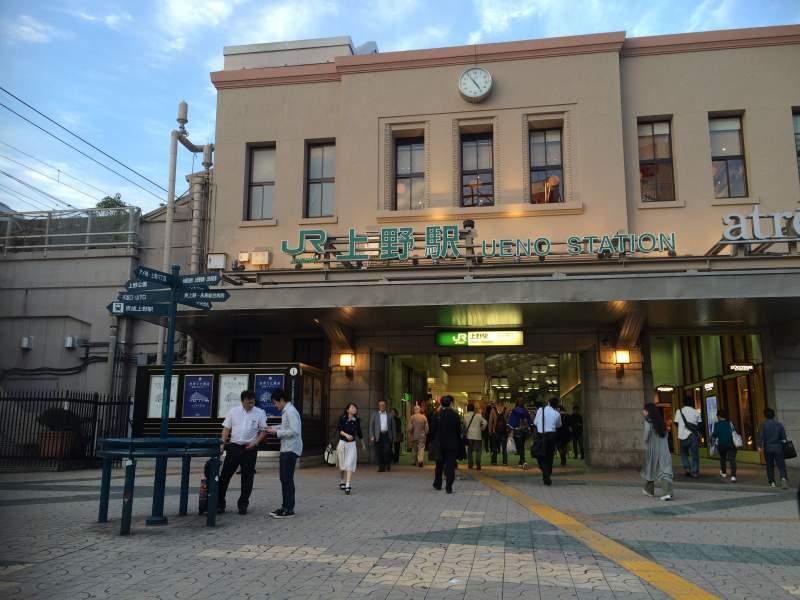 JR上野駅広小路口